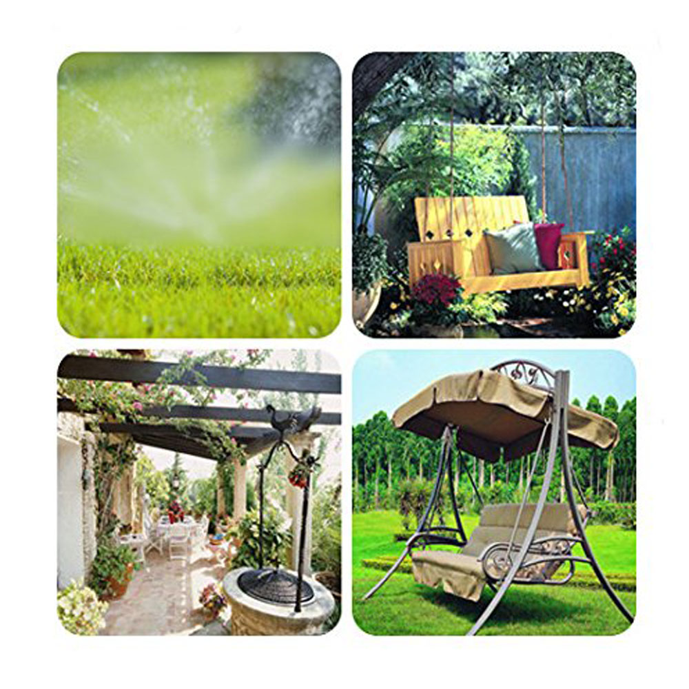 Parts Of A Patio Misting System : Outdoor garden patio water misting cooling system mist